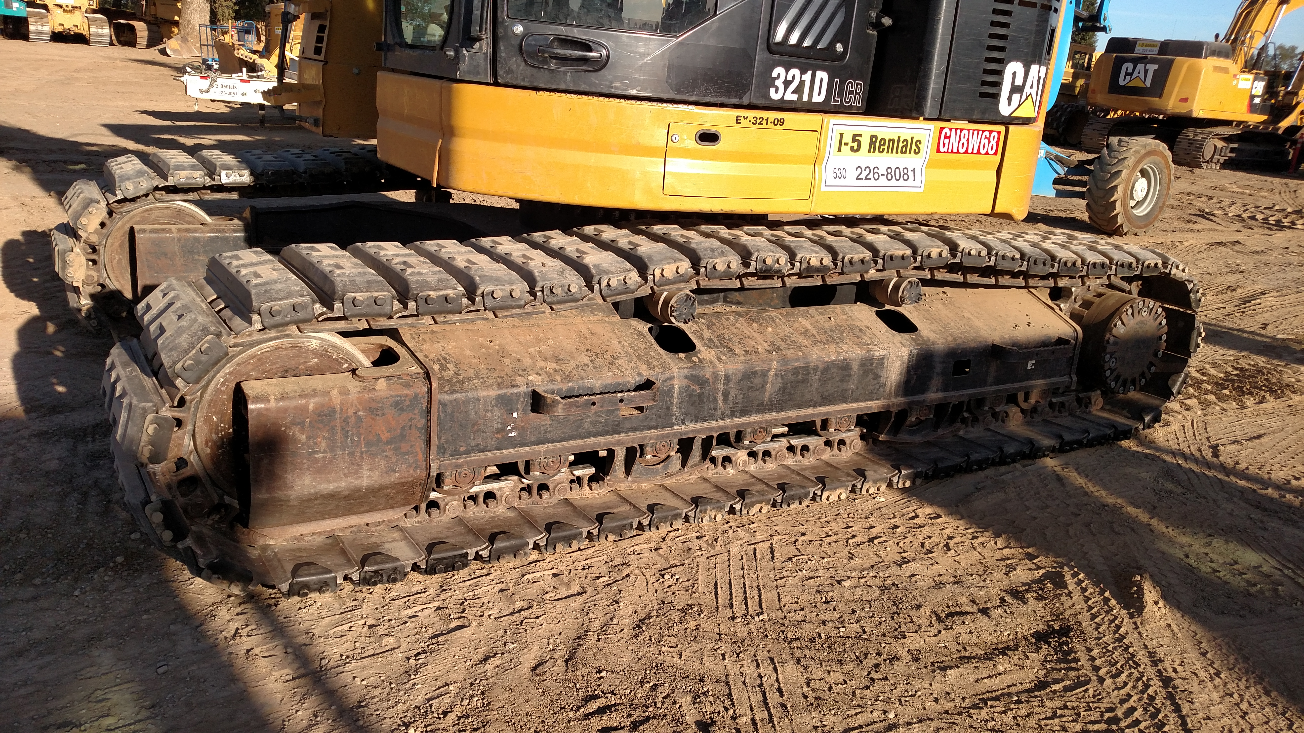 EXCAVATOR 320/321, Attachment-Rubber Track Pads
