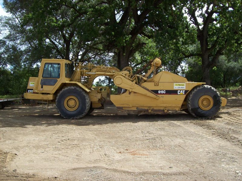 SCRAPER 615 Caterpillar