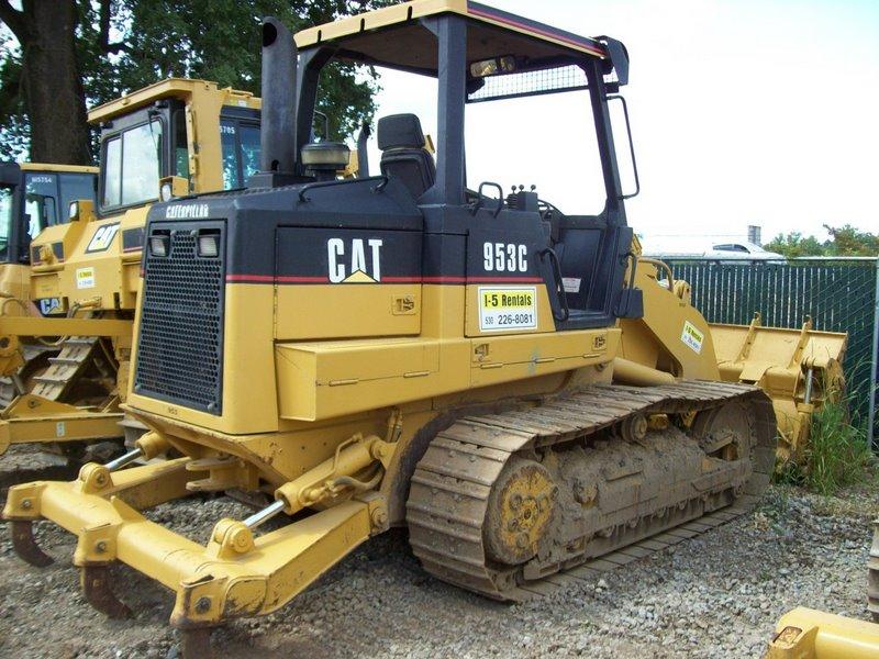 1998 CAT 953C TRACK LOADER