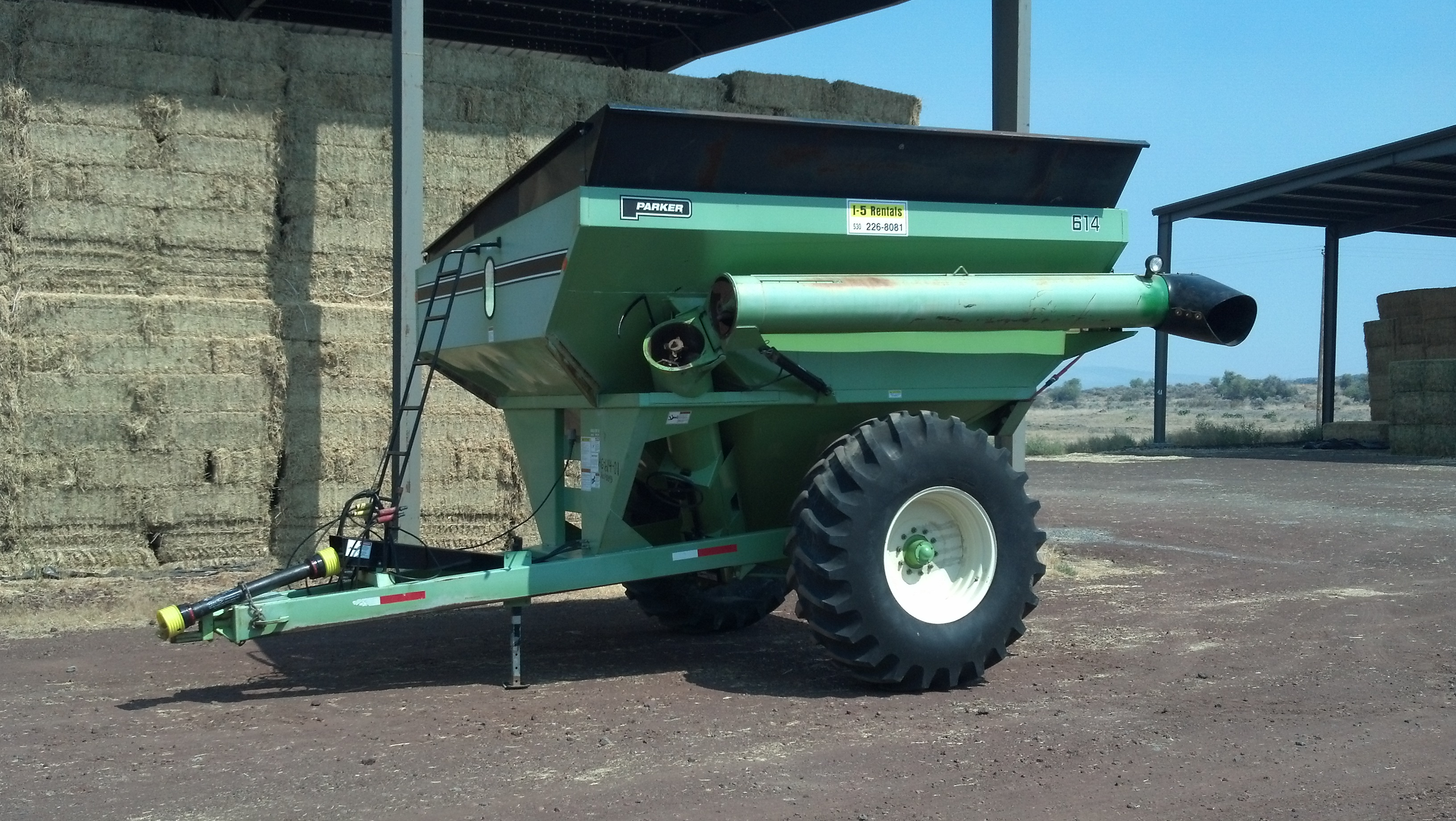 AG GRAIN CART – 614 Parker $10,500