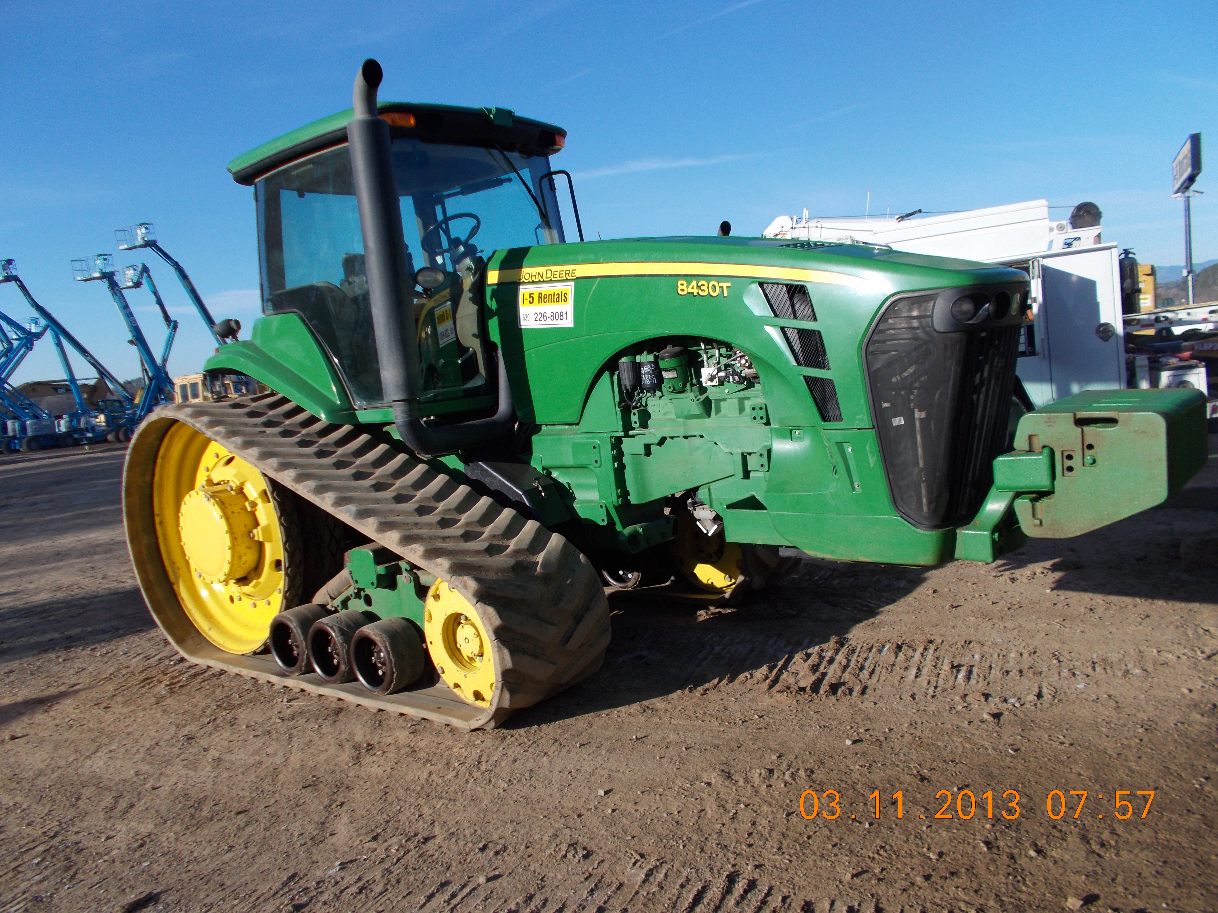 335HP John Deere Track 8430T