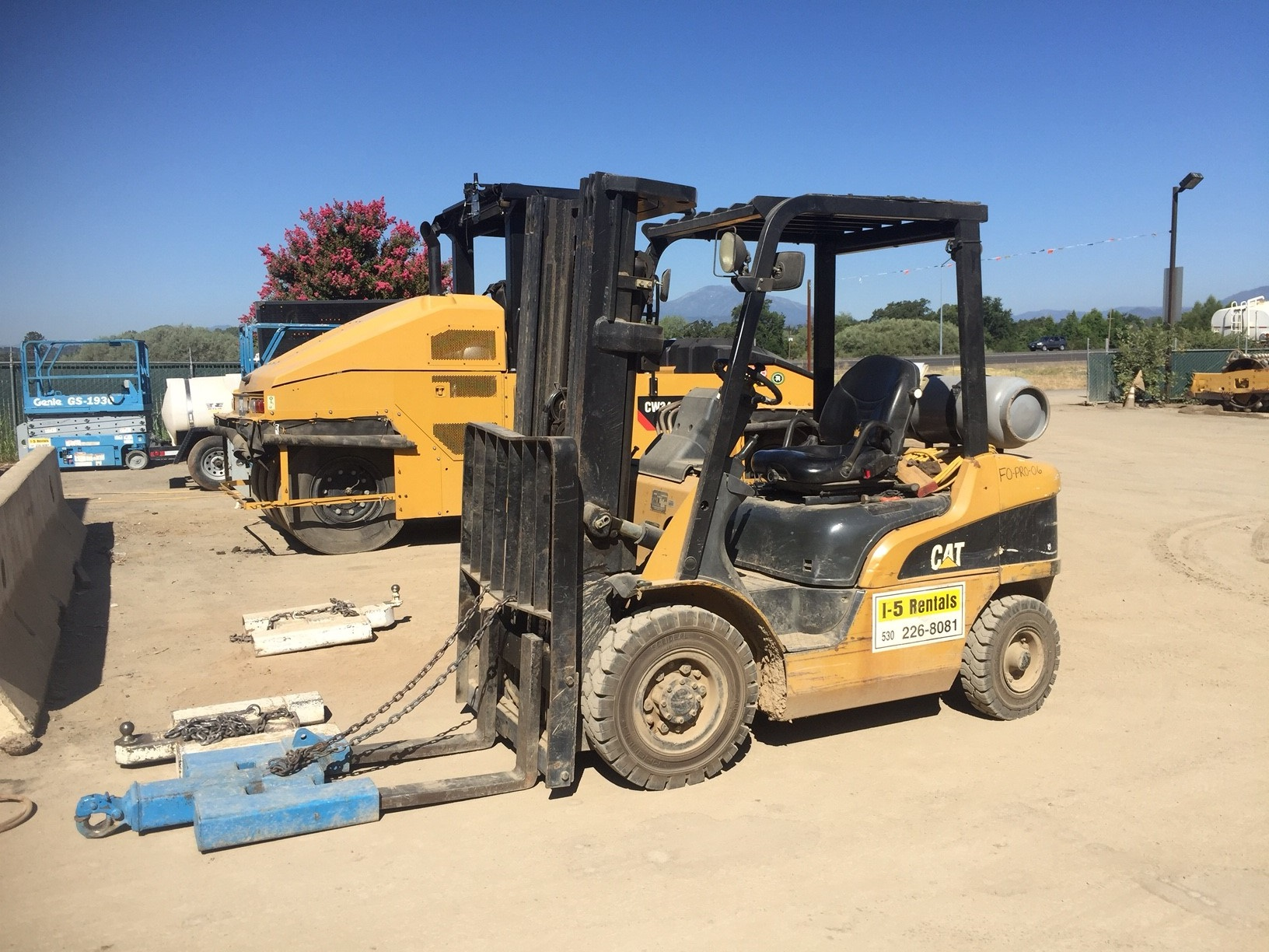 2004 CAT FORKLIFT P5000 5K lbs
