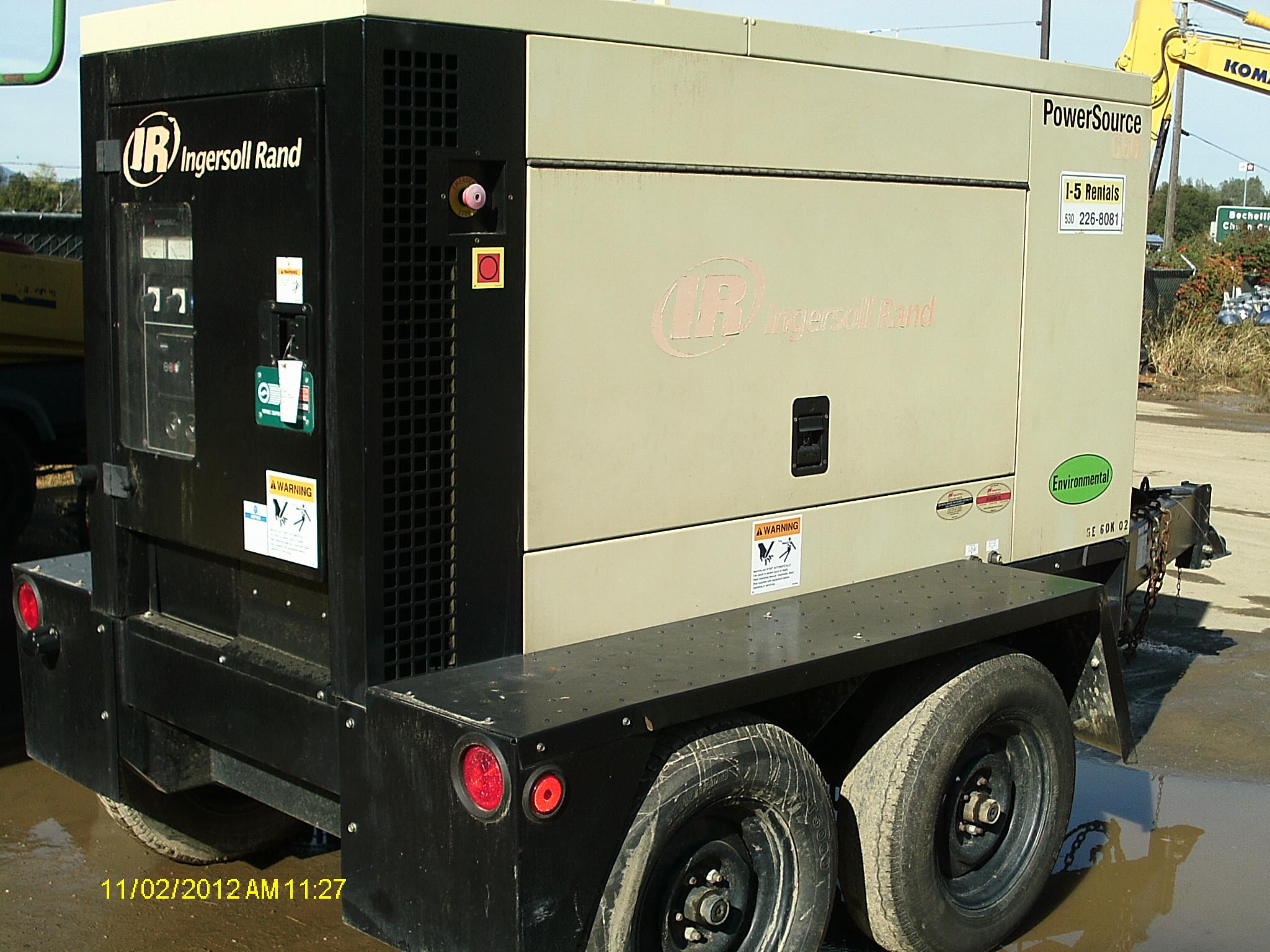 Generator 60 Kilowatt