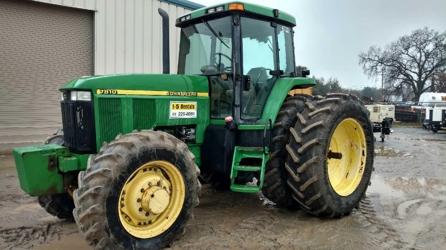 AG TRACTOR 7810 John Deere  FOR SALE