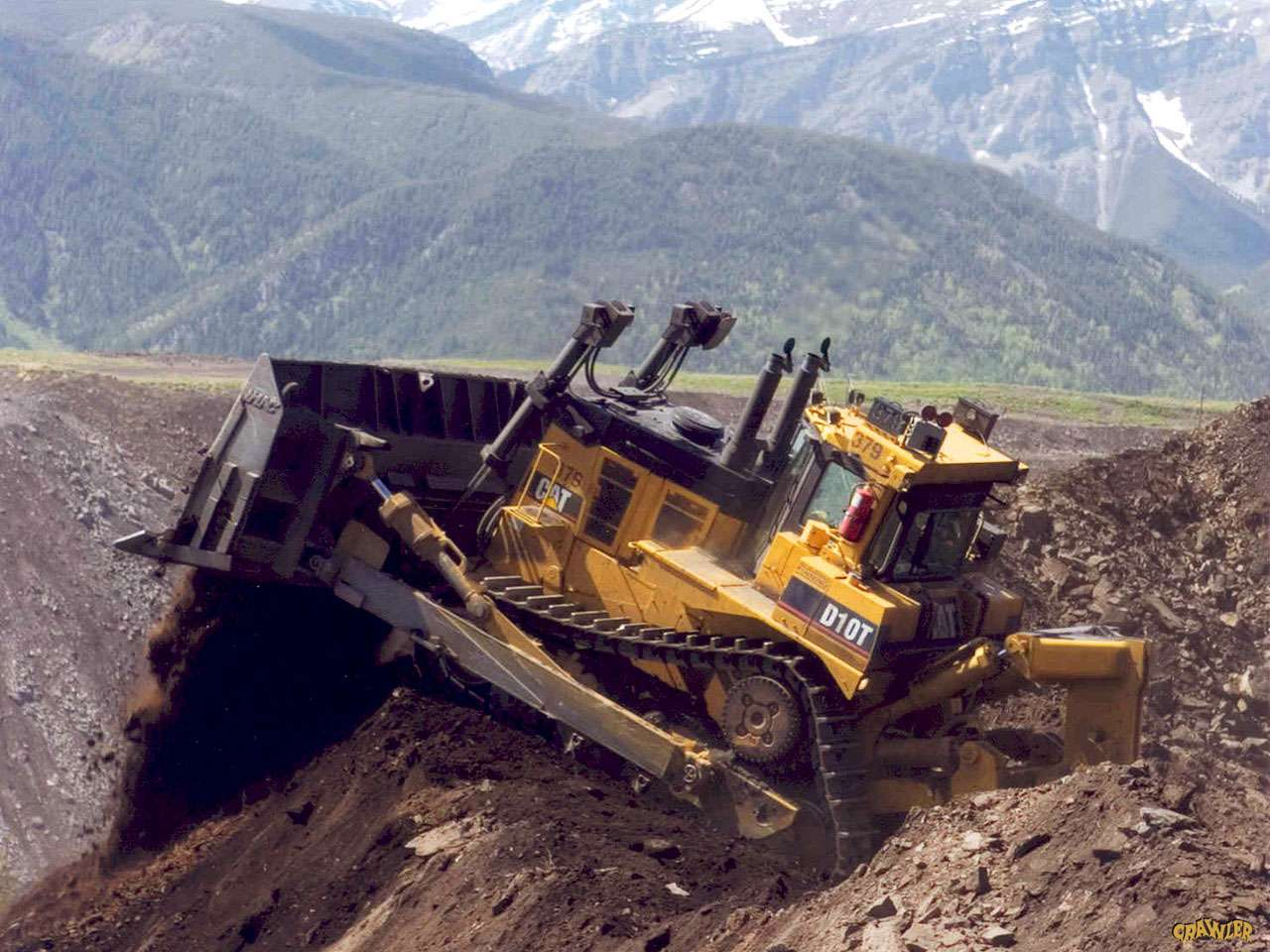 DOZER D10T Caterpillar
